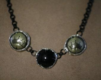 Budweiser cap necklace