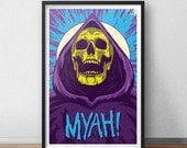 Skeletor Poster - 12 x 18 inches - He-Man - Masters of the Universe