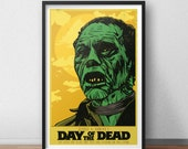 Day of the Dead- 12 x 18 Inch Poster - George A. Romero - Horror Movie - Bub The Zombie