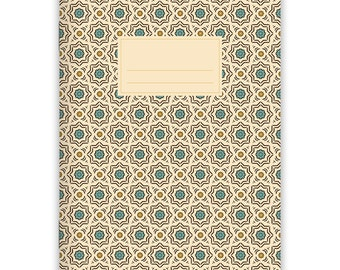 Notebook Stapled A5 Moroccan Pattern No. 1