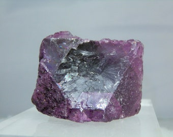 Fluorite Specimen Display Crystal 116 gram Rare Natural Purple Fluorite Crystal Cluster Mineral Specimen DanPickedMinerals