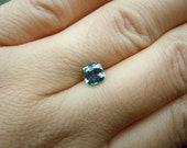 RESERVED: Payment plan for Genuine Montana Sapphire Teal 1.11 carat Cushion cut 5.6 mm Loose Gemstone for Jewelry