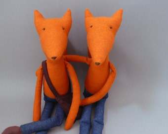 Foxy SALE!! Esteban 89 Fox Plush Softie Puppet Toy