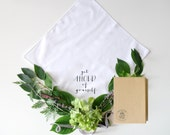 Get Ahold of Yourself Printed Handkerchief