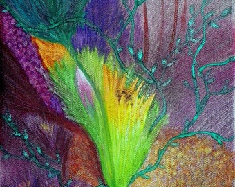 Lush Garden - For the Hummingbirds - 2 Prints