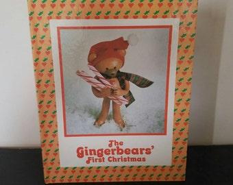 Vintage The Gingerbears' First Christmas - 1983 RARE