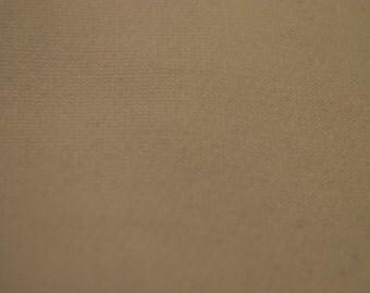 Poly Cotton Sweatshirt Fleece Fabric by the Yard (White)