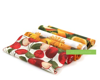 Flower & Fruit Table Runner - We Can Package