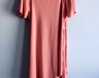 Vintage two-piece Dusty Pink jump suit