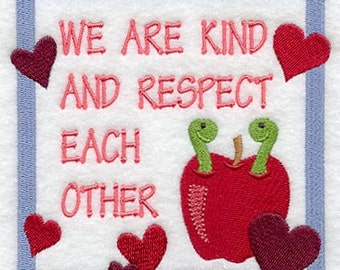 We Are Kind and Respect Each Other - Class Rules