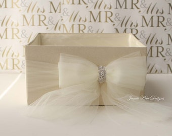 Wedding Open Box/ Program Box / Bubble Box- custom made to order