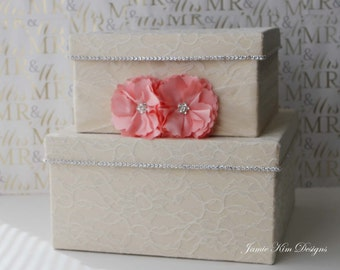 Wedding Card Box, Money Holder, Money Card Box - Custom Card Box