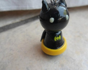 Batman Polymer Clay Pawn Charm