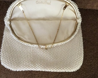Authentic Corde Bead hinged purse