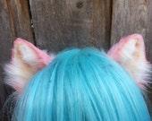 pink kitten ears