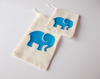 Safari Theme Favor Bags, Zoo Birthday Gift Bags, Gender Reveal Baby Shower, Cotton Favor Bags