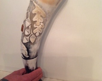 Handmade Viking Drinking Horn Order yours today.