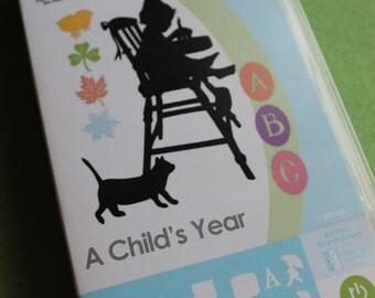 A Child's Year Cricut Cartridge Used // Cricut Supplies // Shape Cartridge