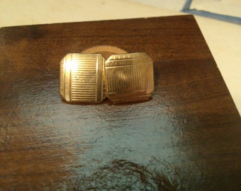 Gold Filled Cuff Links from the 20's
