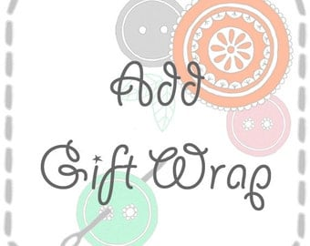 Gift wrap for your purchase