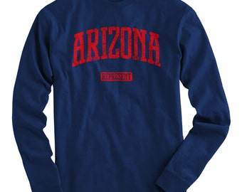 LS Arizona Represent Tee - Long Sleeve T-shirt - Men and Kids - S M L XL 2x 3x 4x - Arizona Shirt - 4 Colors