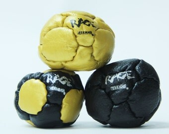 Zeekio The Rage Hand Stitched Leather Footbag