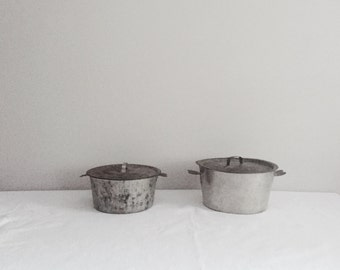 Pair of French Charlotte Pots