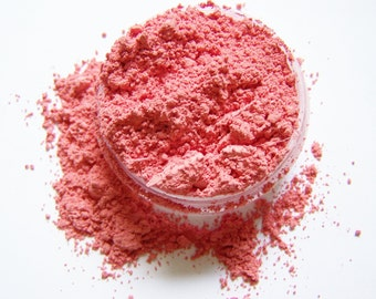 Strawberry Smoothie Mineral Blush - Mineral Blush Powder - Mineral Makeup - Soft Matte Finish Blush -  Vegan Blush - Vegan Makeup