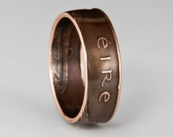 Irish 2 Pingin Coin Ring