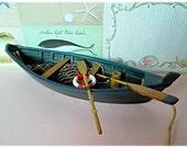 Fabulous Navy Model Row Boat