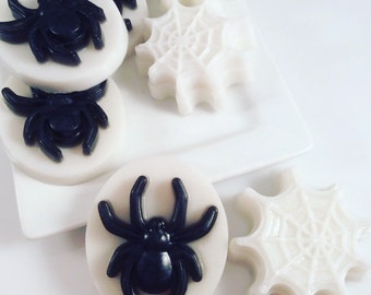 Spider Soap Favors / Halloween Party Favors /  / Halloween Soap Favors / Set of 10