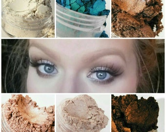 Get this Look  Mineral Makeup Eye Shadow 5g Sifter Jar  Bronze Eyeshadow Petite Size
