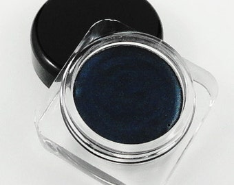 Bite Me Dark Gray Smudge Pot Vegan Cream Eyeshadow Highlighter Eye Shadow Mineral Make up Makeup