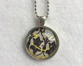 Sherlock Wallpaper Inspired Frame Necklace - Bronze Pendant - English - Wallpaper - Cosplay - Comicon - Summer - Graduation - Teacher Gift