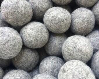 Bulk Wool Dryer Balls, natural white or gray dryer wool laundry balls
