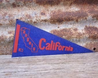 Vintage Baseball Pennant California Angels 5x12 Inch Pennant Mini Flag 1970s Era Collectible Vintage Sports Decor Stocking Stuffer