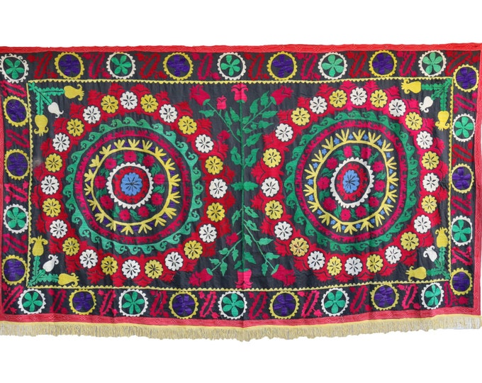 Handmade Vintage Suzani NL3048