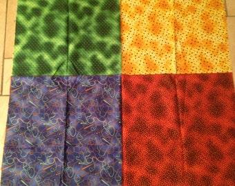 Suzie Q Country Four Colour Cotton Fabric Panel