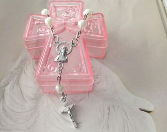 CUSTOM ORDER 18 Baptism favor box, religious favor box, communion favor box, cross favor box, favors, trinket favor box