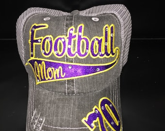 Personalized Football Mom Hat