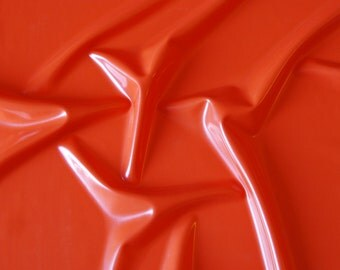 Latex sheet Orange 0.25mm thickness - clearance, leftover