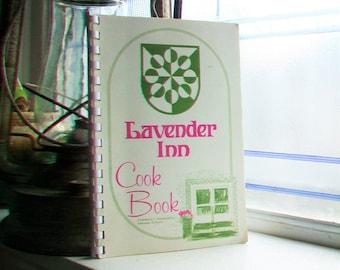 Lavender Inn Cook Book Vintage Cookbook Faribault, Minnesota