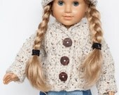 doll sweater and hat set