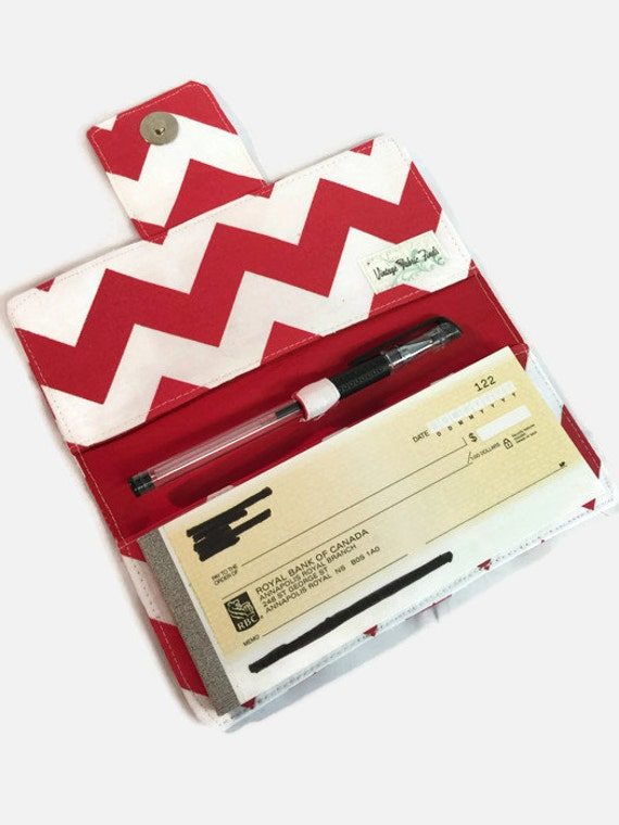 Fabric Book Covers Canada : Checkbook cover fabric holder