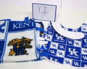 University of Kentucky Wildcats Gift Set!  Blanket, Bib and Greeting Card
