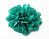 Jade Green Eyelet Flower. 1 pc. JESSAMY Collection