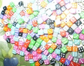 Over 100 Mini Dice