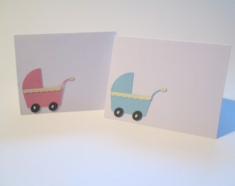 Baby Shower Place Cards, Choose Boy Or Girl Or Both - Made to Order