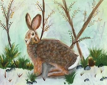 Rabbit Totem Original Painting