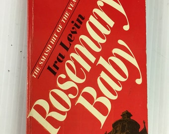 Rosemary's Baby by Ira Levin - Vintage Paperback 1968 Dell 7509